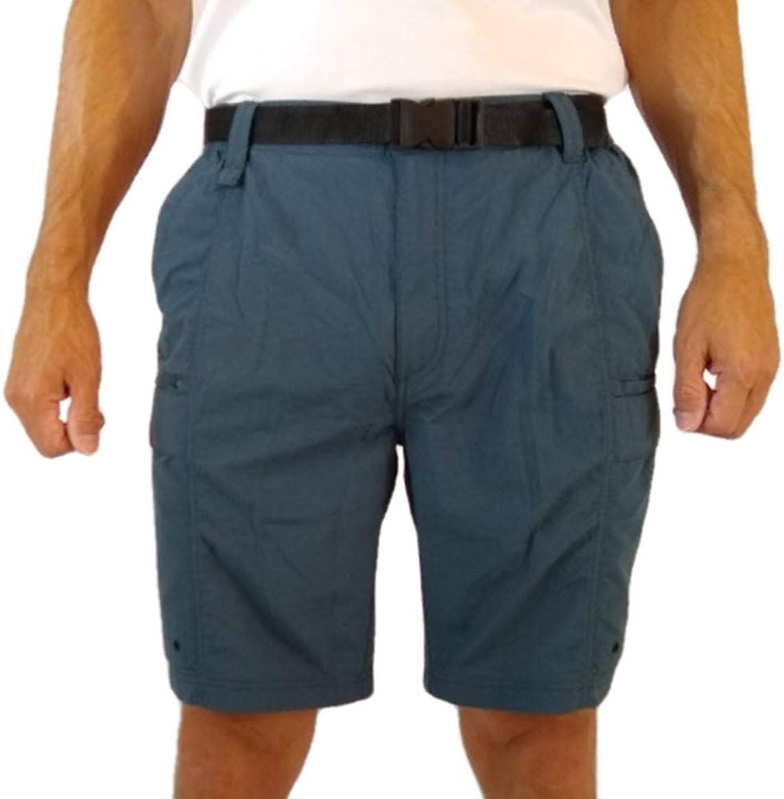 Men/'s Coleman Cargo Short Séchage Rapide avec poche pour téléphone portable//Eucalyptus 65 $