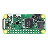 Raspberry Pi Zero W Motherboard Only SoC: Broadcom BCM2835--CPU: ARM11 running at 1GHz--RAM: 512MB Wireless: 2.4GHz 802.11n wireless LAN (WiFi),Bluetooth: Bluetooth Classic 4.1 and Bluetooth LE Dimensions: 65mm × 30mm × 5mm