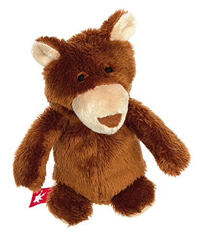 sigikid, Mädchen und Jungen, Stofftier, Mini Bär, Sweety, Braun, 38575