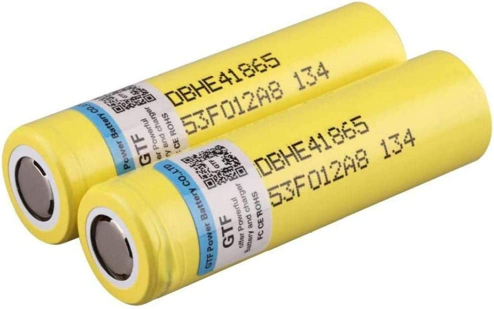 VCFR depot 3.7V 18650 2500mAh Battery batteries-8p Limited time trial price Li-lon Rechargeable