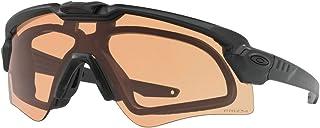 Oakley Men's Standard Issue Ballistic M Frame Alpha Operator Kit Sunglasses,OS,Matte Black/Clear