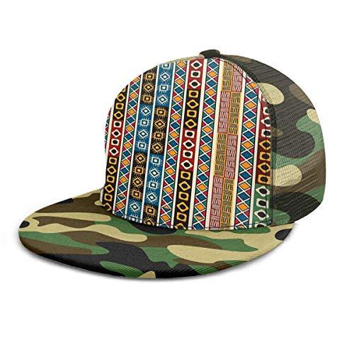 Gorra de béisbol Etnia Africana Decoración tribal Motivos...