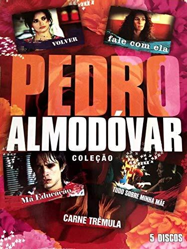 Coleção Pedro Almodóvar - 5 Discos [ Carne Trêmula - Tudo sobre minha mãe - Fale com ela - Má Educação - Volver ]