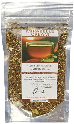 Hale Tea Rooibos, Mirabelle Cream, 2-Ounce