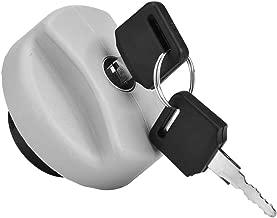 Cuque 170 2834 932 24461 Fuel Tank Filler Cap with Keys for Vauxhall Opel Vectra Corsa Astra Zafira Tigra Combo