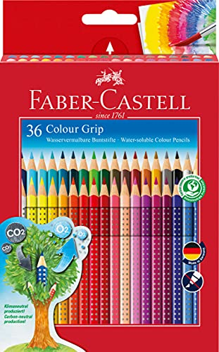 Faber-Castell 112442 Matita Colorata, 36 Pezzi