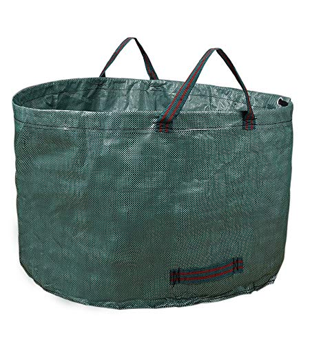 QH-Shop Gartenabfallsack Wiederverwendbar Polypropylen-Gewebe Gartensack Wasserdicht Reißfest Yard Waste Bags für Laub Müll