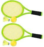 Crefotu Kids Tennis Racket,Plastic Tennis Racket Toys for Children Outdoor/Indoor Sport Game