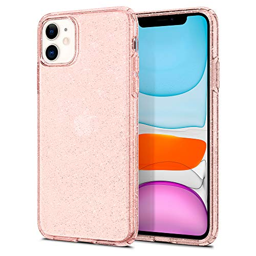 Spigen Cover iPhone 11 PRO Liquid Crystal Glitter Progettato per