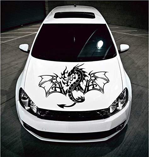 Oude stam met vleugels vliegen over de hemel kap auto sticker en race sport grpa. kunst muurschildering vrachtwagen