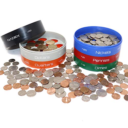 Nadex Twist & Shake Coin Sorting Jar | All in
