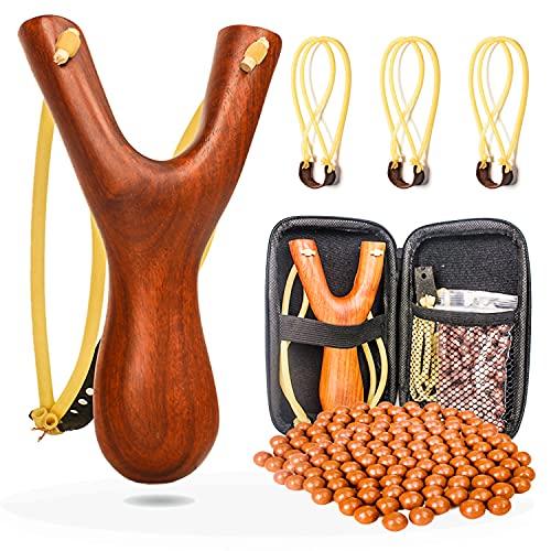 kekafu Lance-pierre jumelle en bois - Un bon cadeau pour les...