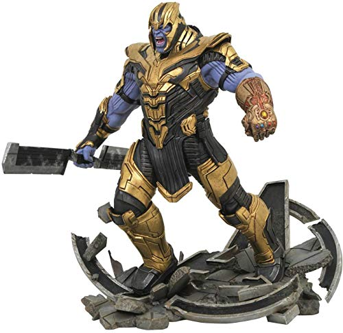 DIAMOND SELECT TOYS Marvel Milestones: Avengers Endgame Armored Thanos Statue
