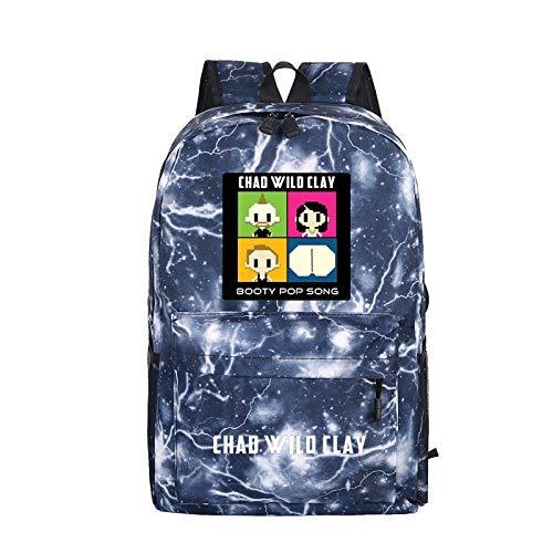 Rucksack, Unisex-Rucksack, Outdoor-Reiserucksack, Schülertasche, Oxford, Cartoon-Familie Outdoor-Freizeit-Wildbag, Student Opening Gift, Halloween-Geschenk, Großraum-Mehrzweckrucksack