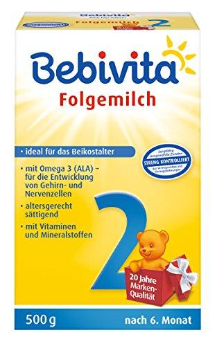 Bebivita 2 Folgemilch, 4er pack (4 x 500g)