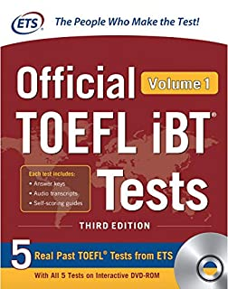 Official TOEFL iBT Tests Volume 1, Third Edition (1260441008) | Amazon price tracker / tracking, Amazon price history charts, Amazon price watches, Amazon price drop alerts