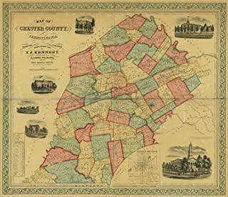 Best map of chester county pa Reviews
