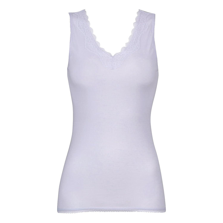 (ワコール)Wacoal スゴ衣 天然素材プラス シャリッとひんやり 天綿100% ノースリーブ ラウンド スタンダー