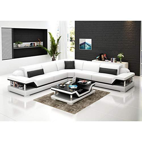 Winpavo Sofas & Sofas Sofa Corner Sofa Set Wohnzimmer Ecksofa L-Form Sofa-C.