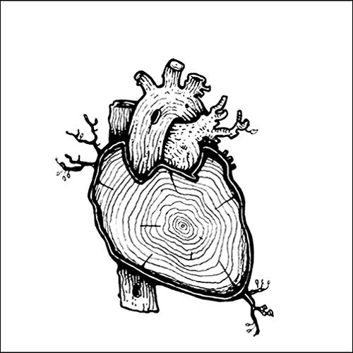Ruofengpuzi Adesivo Tatuaggioanillo Anual Corazón Tatuaje ...