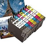 Caidi - Cartuchos de tinta para Epson 603XL compatibles con Epson Expression Home XP-2100 XP-2105...