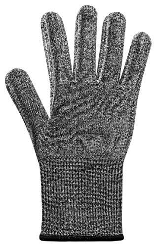 Microplane Schutzhandschuh Universalgröße Schnittfester Handschuh Grau 1 Stück 34027