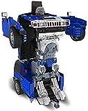 Zhangl Robot de détection Gesture Deformation, King Kong Robot de Charge des véhicules Hors Route, Autobot télécommande Voiture Jouet, 2.4G RC Transformateurs Stunt Car for Les Enfants d'anniversaire