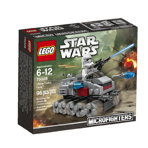 Lego, Star Wars Microfighters Series 1, Clone Turbo Tank (75028)
