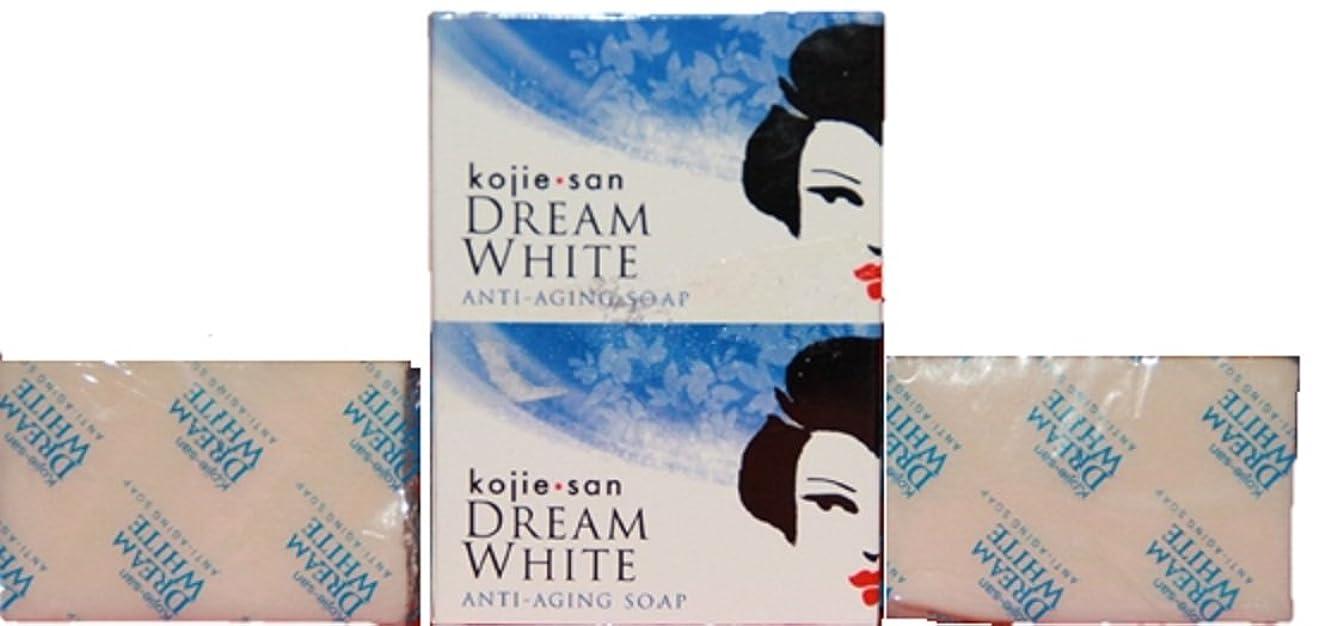 スペアカートンハッチKojie san Dream white Soap 2 pcs こじえさん ドリームホワイトニングソープ 2個 パック