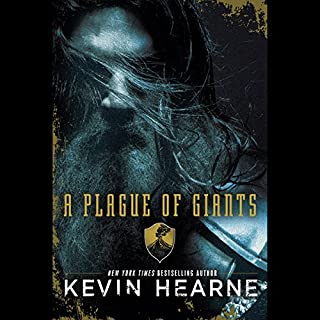 A Plague of Giants audiobook cover art