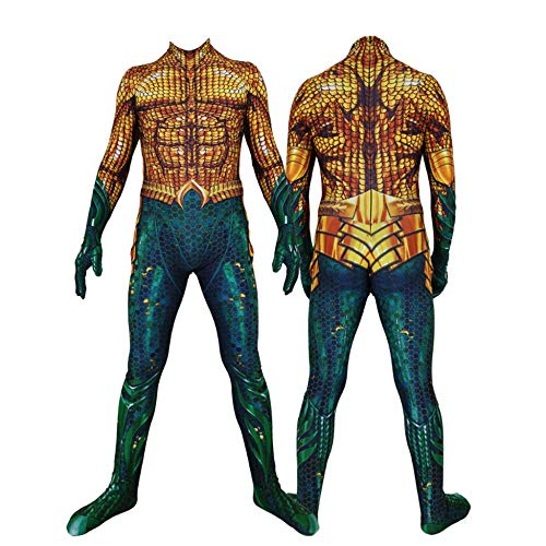 YUW Aquaman Fancy Panty Kostuum Fancy Jurk Halloween Kerst Props Volwassene Kind Cosplay Jumpsuit Party Jurk