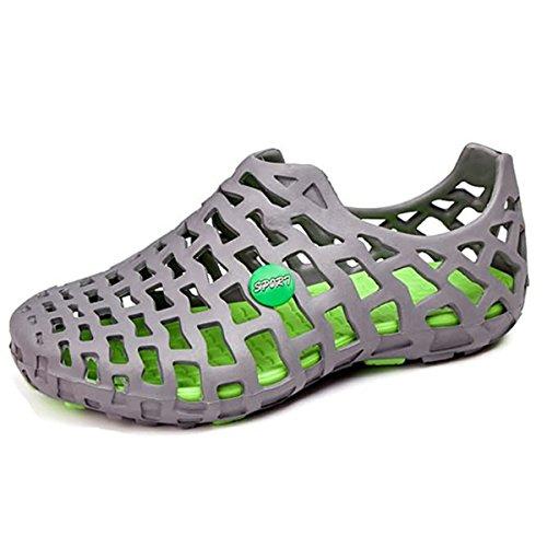 Garten Schuhe, Tezoo Sommer Sandale Classic Unisex,Grau,37 EU