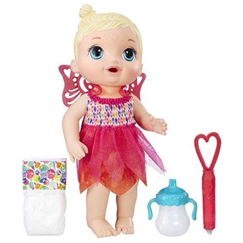 Brinquedo Boneca Baby Alive Hora da Festa Loira - Com 4 acessórios. Bebe e faz xixi - B9723 - Hasbro