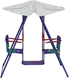 بست توي مرجيحة للاطفال ، مقعدين ، متعددة الالوان ، AJ-86