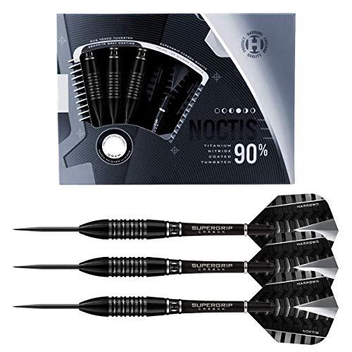 Harrows Steel Darts Noctis 90% Tungsten Steeltip Dart Steeldart (25 g)
