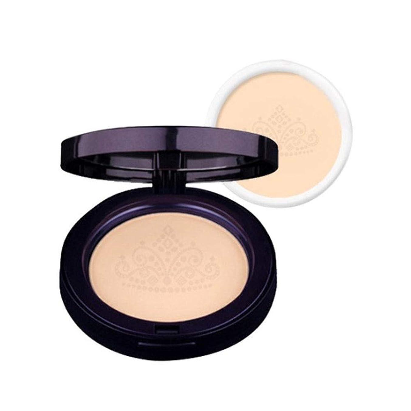 評議会受付シンジケートラクベルクイーンズファクト本品+リピルセット2カラー韓国コスメ、Lacvert Queen's Pact+ Refill Set 2 Colors Korean Cosmetics [並行輸入品] (No. 21)