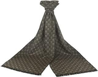 Men's Cotton Luxury Soft Thicken Tassels Fringed Long Scarves