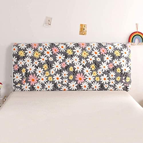 Patchwork Funda para cabecera de cama tamaño Queen Todo Incluido Funda elástica gruesa suave extraíble lavable a prueba de polvo para decoración de dormitorio