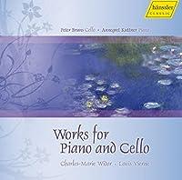 ヴィドール:組曲 ホ短調Op.21/ヴィエルヌ:チェロ・ソナタ 他 (French Works for Cello and Piano - Widor & Vierne) / Bruns