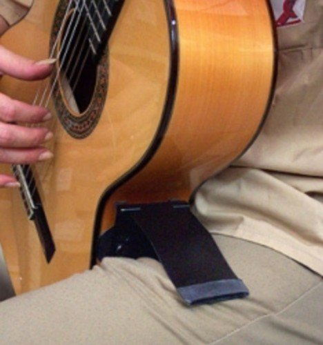 GITANO SOPORTE GUITARRA - Alhambra (Gitano) A la Rodilla (Para Cualquier Tipo de Guitarra)