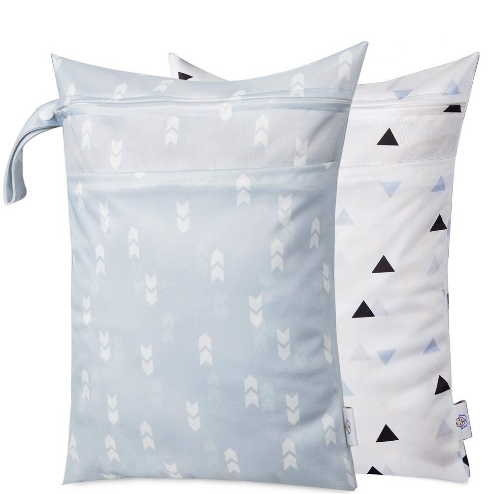 Cloth Diaper Waterproof Zipper Handle
