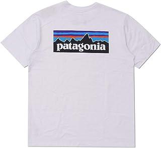 [Patagonia(パタゴニア)] 2020SS P-6 Logo Responsibili Tee REGULAR FIT 38504 新品 (ホワイト, S)