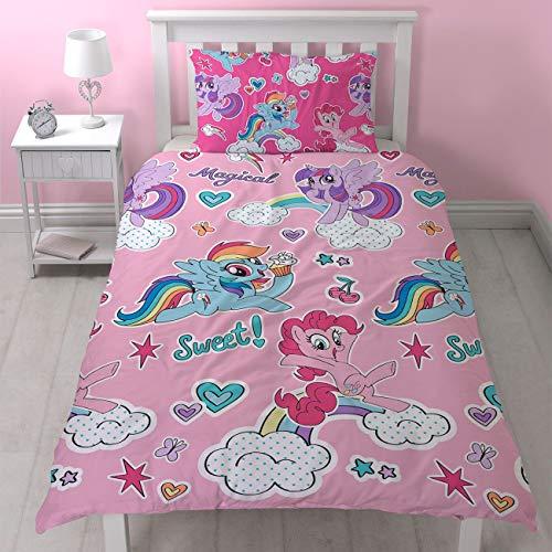My Little Pony - Funda de edredón y funda de almohada, Cupc