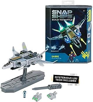 PlayMonster Snap Ships Sabre XF-23 Interceptor