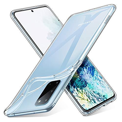 ESR Cover Compatibile con Samsung S20 5G, Custodia Essential Zero in TPU Morbido, Sottile e Trasparente Custodia Morbida in Silicone Flessibile - Gelatina