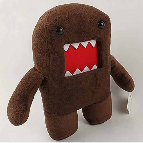 JIAL 20cm Kawaii Domo Kun Domokun Plüsch Spielzeug Puppe Lustige Domo-Kun Plüschtier Weiche Gefüllte Tiere Spielzeug Für Kinder Kinder Weihnachten Geschenke Chongxiang