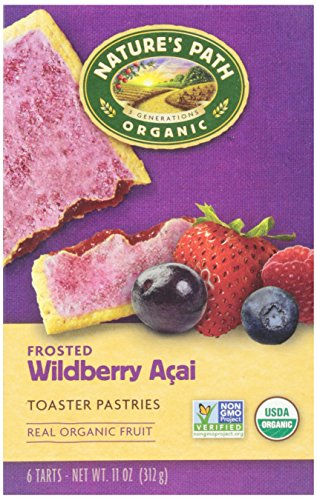 Nature's Path, Organic Frosted Acai Toaster Pastry, 11 oz