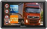 GPS Poids Lourd 9 Pouces Navipro 9XL GPS pour Camion et Bus Cartes et INFO TRAFIC Gratuite a Vie