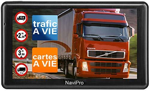 GPS Poids Lourds 9 Pouces Navipro 9XL GPS pour Camion et Bus Europe + Maroc INFO TRAFIC Gratuite a Vie