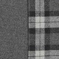 ウール【24940】【柄物】【ウール生地】 カラー 【50cm単位 切り売り】【ウールツイード】 86 グレー/グレーチェック